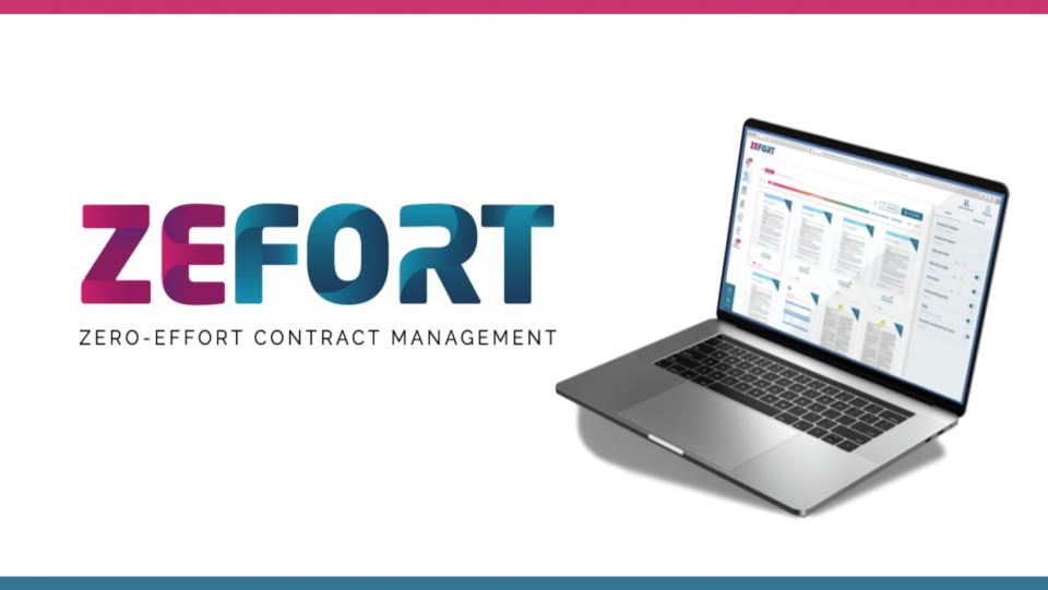 Contract Management with Zefort