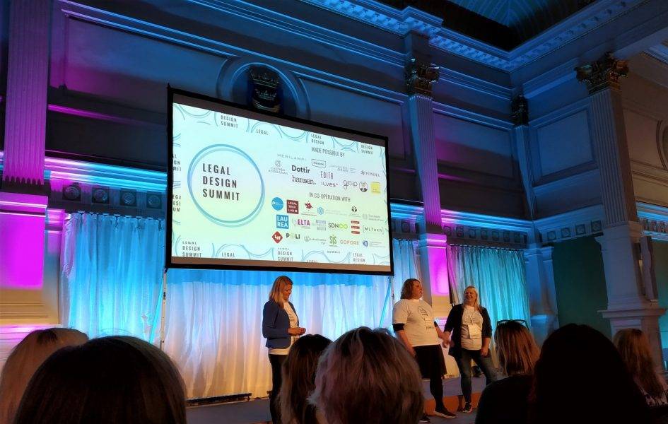 Legal Design Helsinki 2019 LDS2019 take away notes