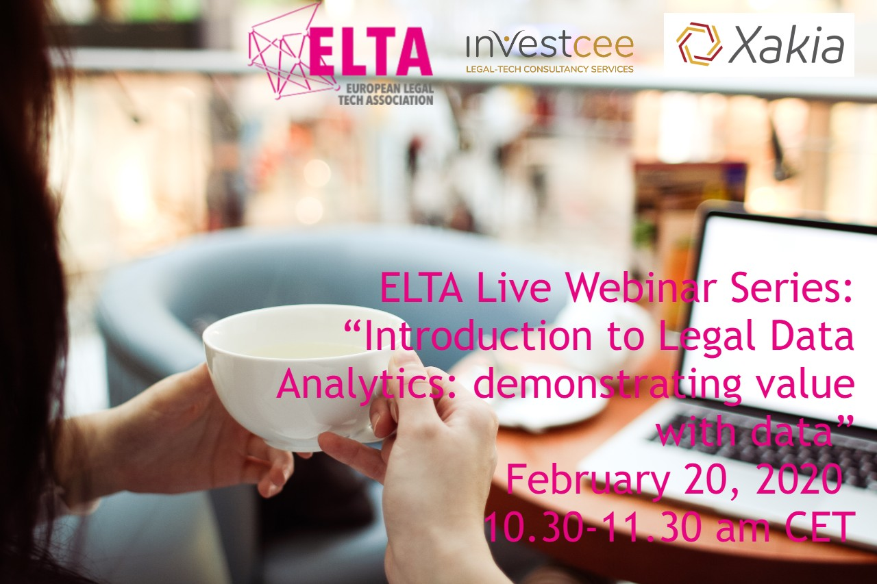 Legal Data Analytics Webinar with Xakia InvestCEE Legaltech