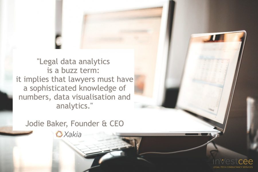 Legal Data Analytics Webinar InvestCEE LegalTech Xakia Technologies