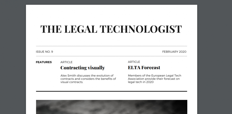 The Legal Technologist February 2020 Issue