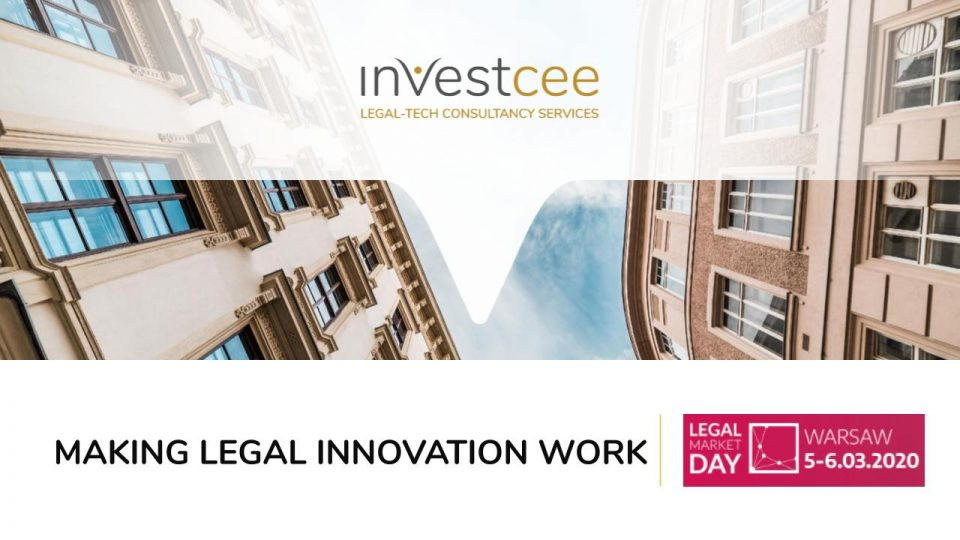 Legal Innovation Legal Market Day Warsaw