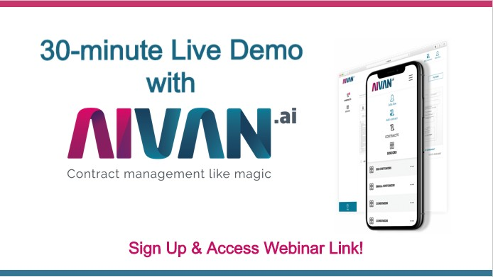 Contract Data Management Webinar Live Demo