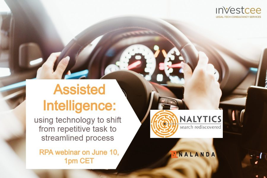 Robotic Process Automation Nalytics RPA webinar June 2020