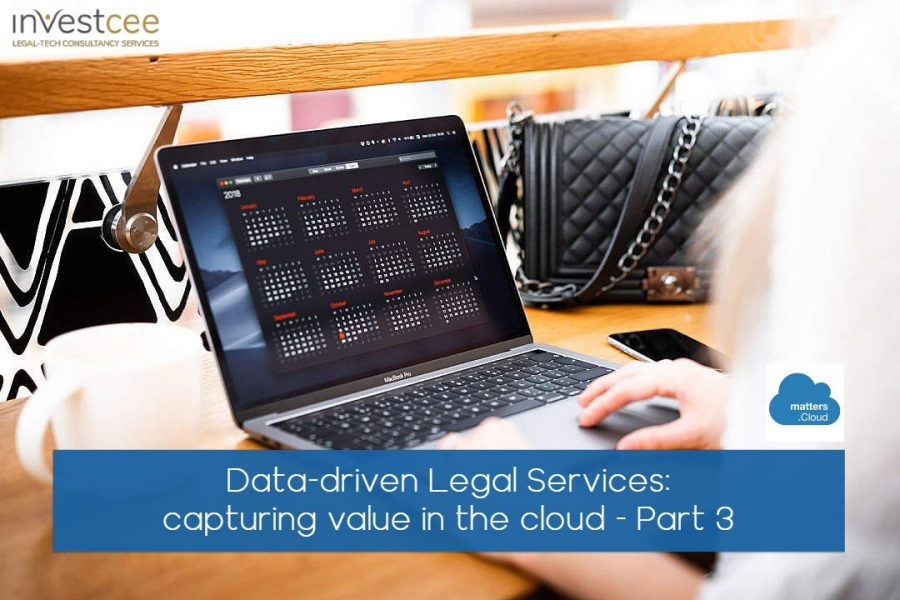 Data-driven legal services practice management
